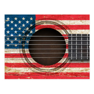 American Flag clipart guitar Zazzle Old Gifts Acoustic Guitar