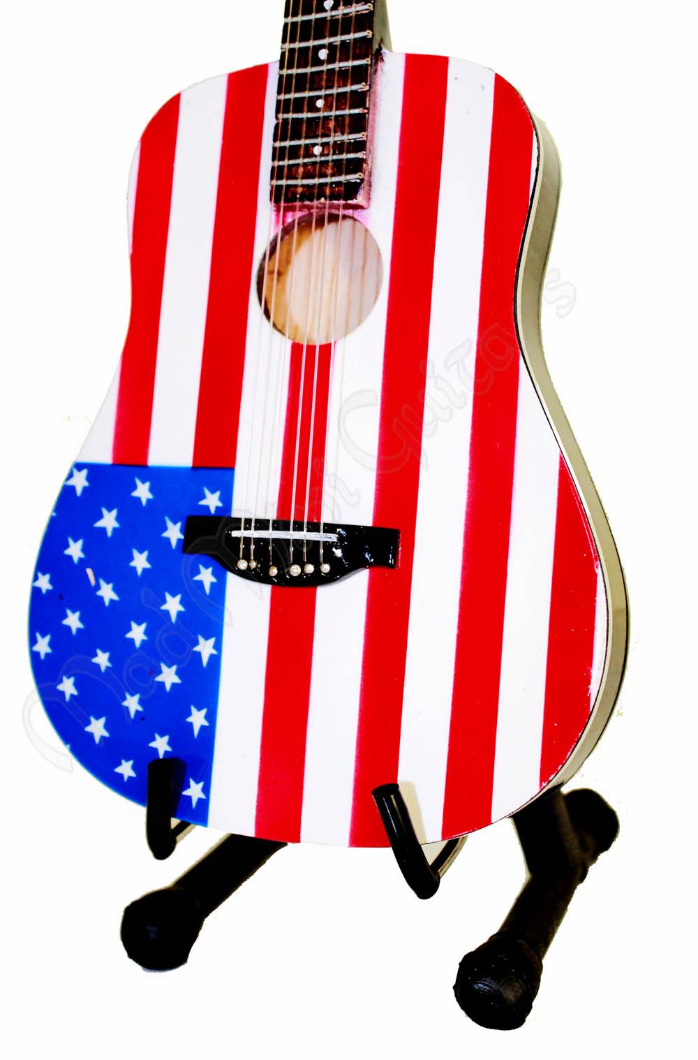 American Flag clipart guitar American Mini Flag Mad Guitar
