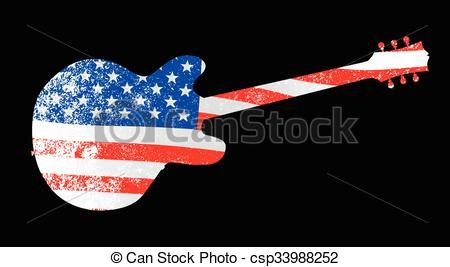 American Flag clipart guitar Seen Patriot American Flag An