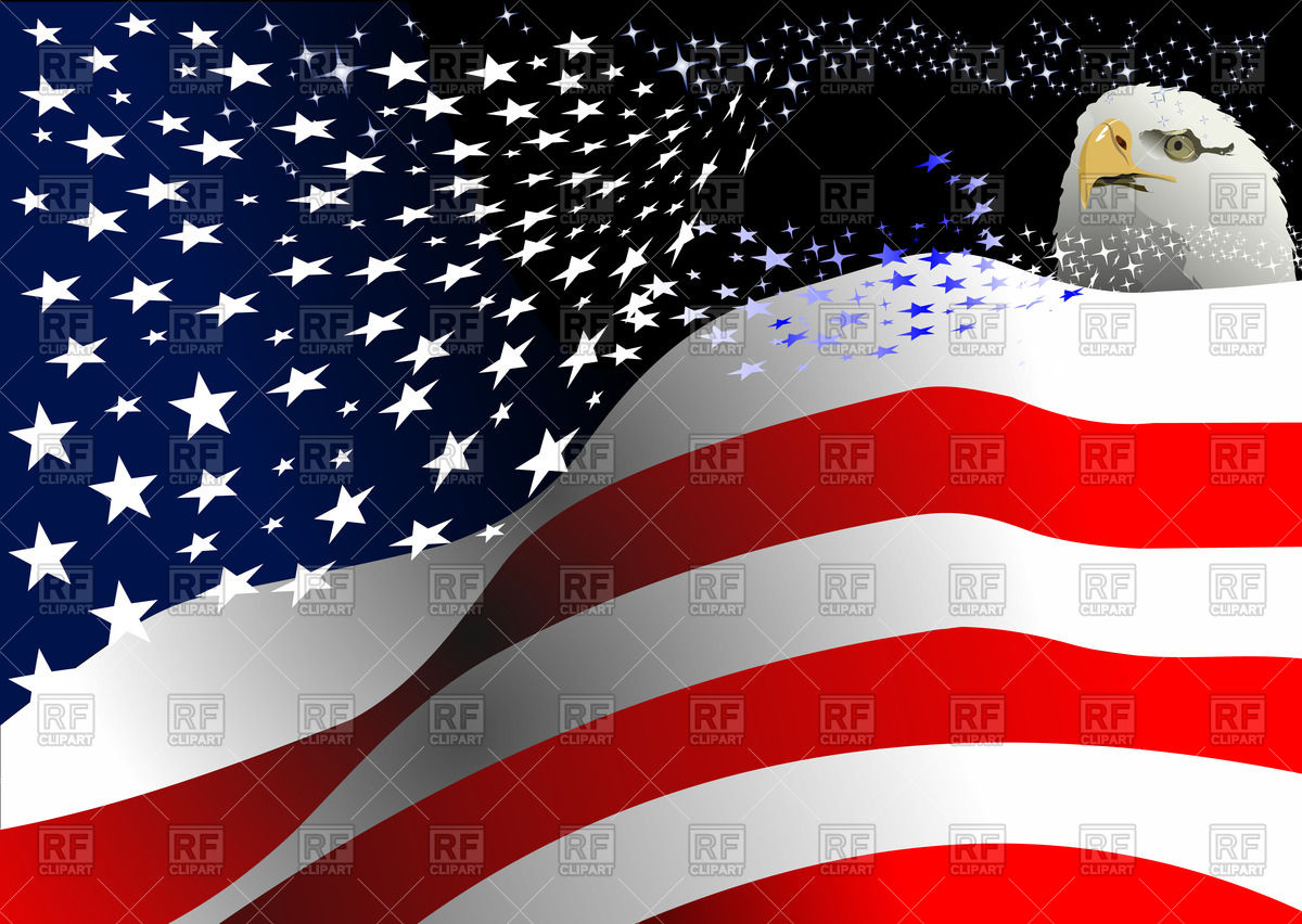 American Flag clipart independence day july 4th Collection day) american free clipart