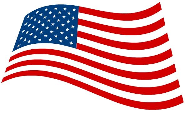 American Flag clipart kid American Banner Flag 2327 Clipart