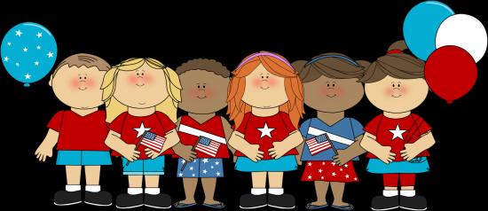 American Flag clipart kid Kid clipart clipart flag flag