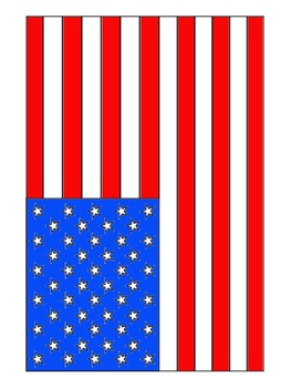 American Flag clipart original  & Commercial Use Pages