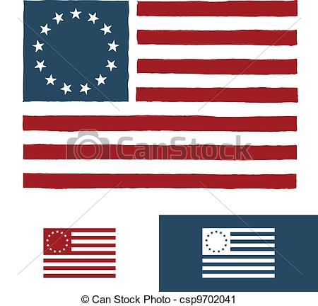 American Flag clipart original Design Clip Art Vector American