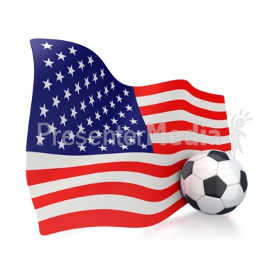 American Flag clipart simple American Art With Flag Ball