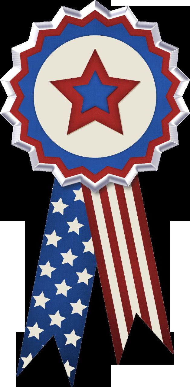 American Flag clipart ribbon Clip July Art Ribbon Flag