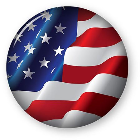 American Flag clipart round Clipart Flag large Gifs American