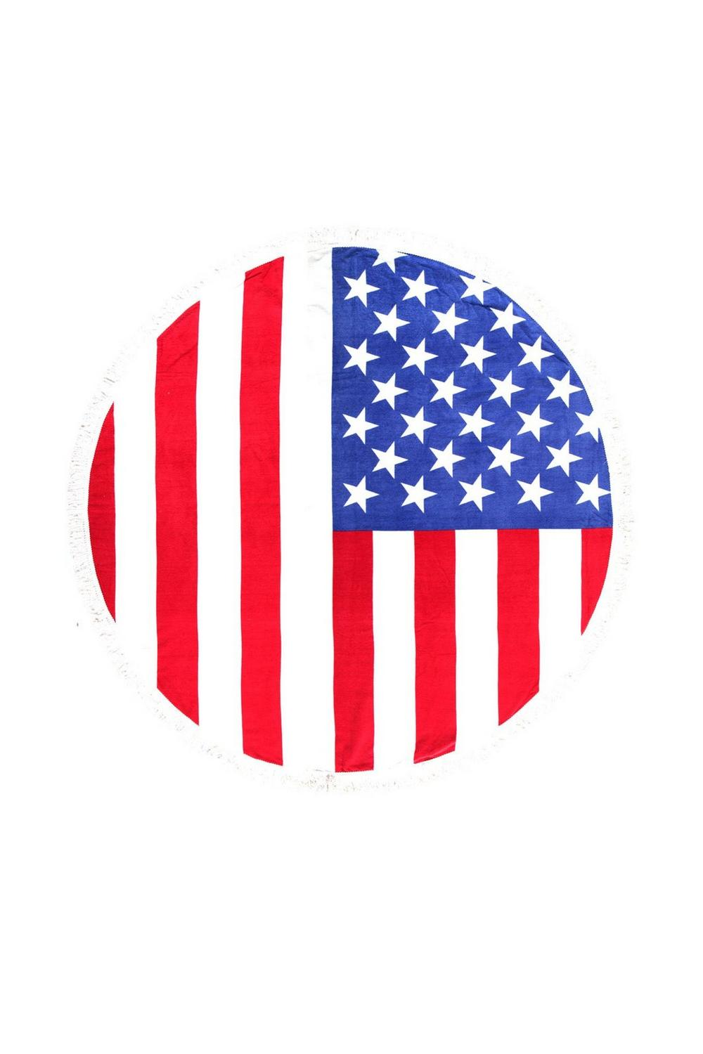 American Flag clipart round Beach Round at Clothes Shop