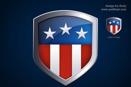 American Flag clipart shield Shield Clipart American flag flag