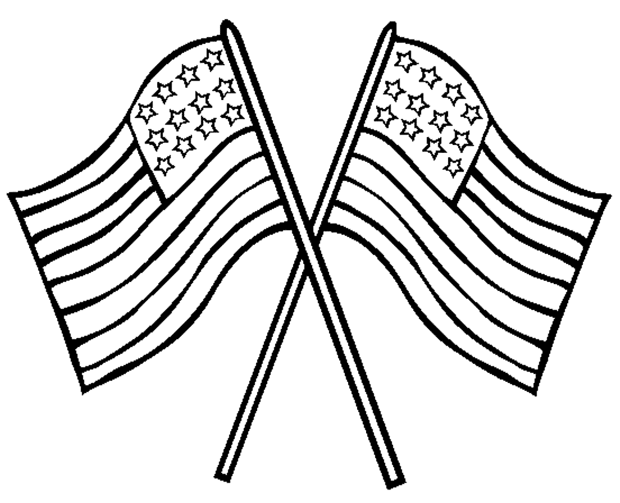 American Flag clipart simple Clip flag clip art 2