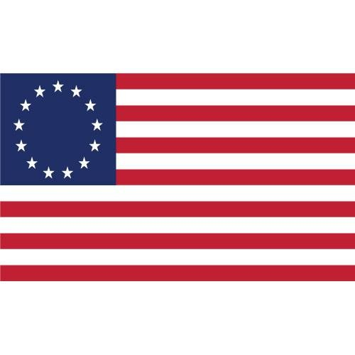 American Flag clipart staes Flag 13 Stars Ross Art