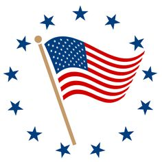 American Flag clipart stylized Flag pptstar American Free stylized