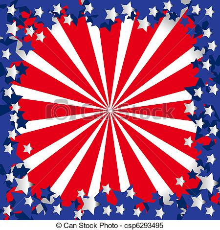 American Flag clipart stylized Stylized of flag American