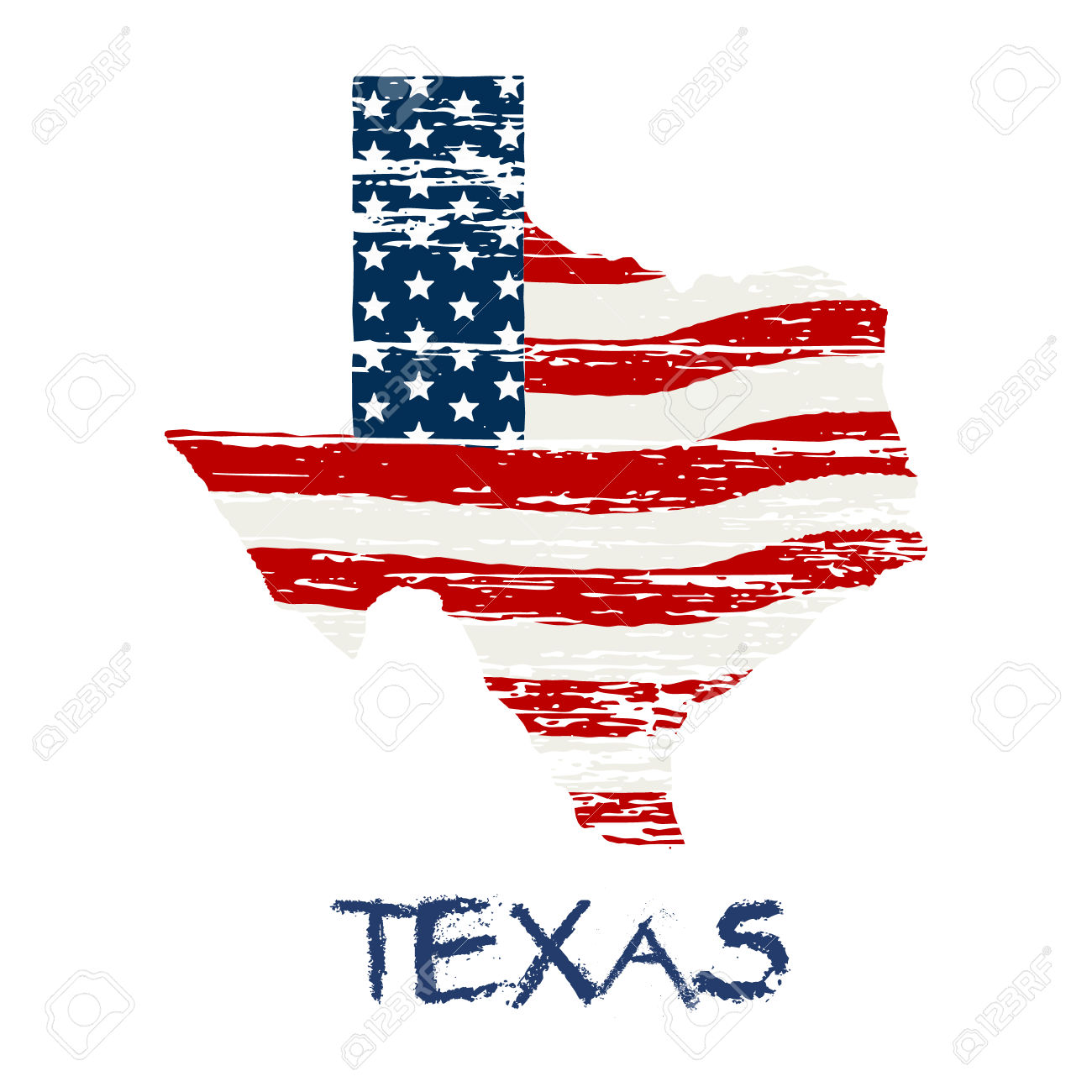 American Flag clipart texas And Texas flag clipart and