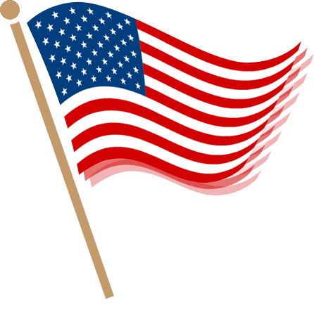 American Flag clipart transparent background American clipart ribbon transparent ribbon