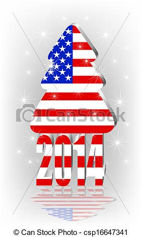 American Flag clipart tree Tree American the tree with