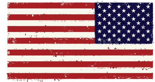 American Flag clipart worn Flag collection free Clipart flag