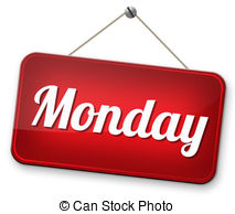 Amonday clipart This schedule Monday for Art