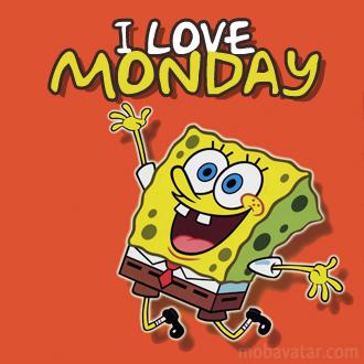 Amonday clipart i love To  Monday Love I