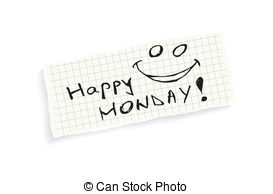 Amonday clipart oh happy Stock Monday! Images Illustration paper