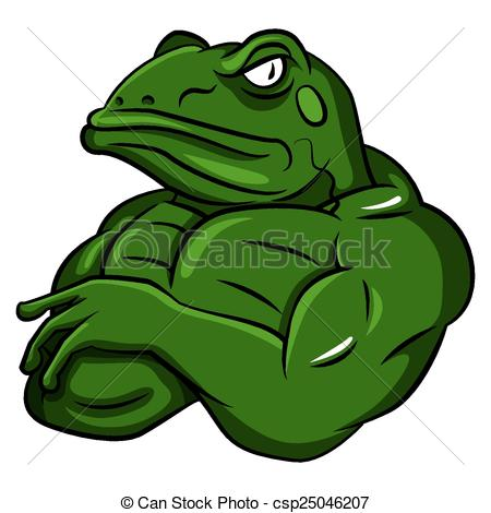 Amphibian clipart angry Csp25046207 csp25046207 Mascot  Frog