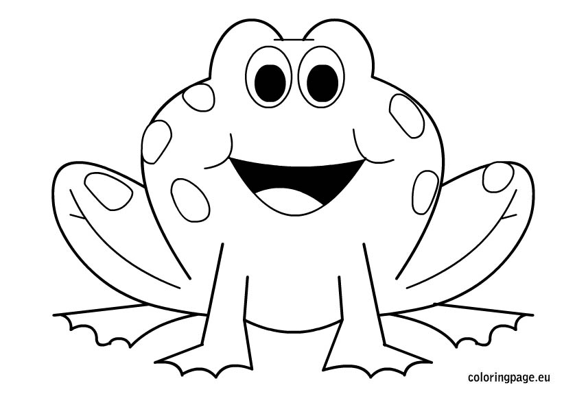 Amphibian clipart coloring page Downloads For Your Frogs Pages