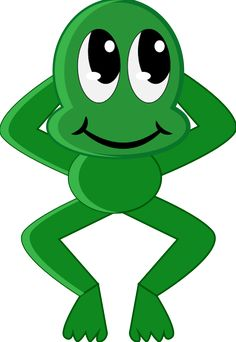 Amphibian clipart natural thing Green art Image Thinking happy
