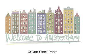 Amsterdam clipart Amsterdam Welcome Vector  Amsterdam