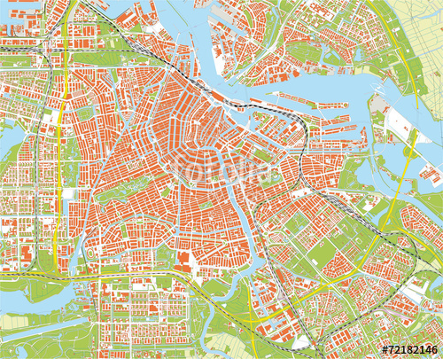 Amsterdam clipart Amsterdam Cities Travel map >