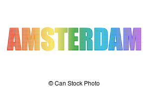 Amsterdam clipart Of vector Vector All of