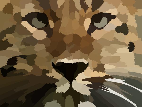 Amur Leopard clipart Download Clip Mark Clker this