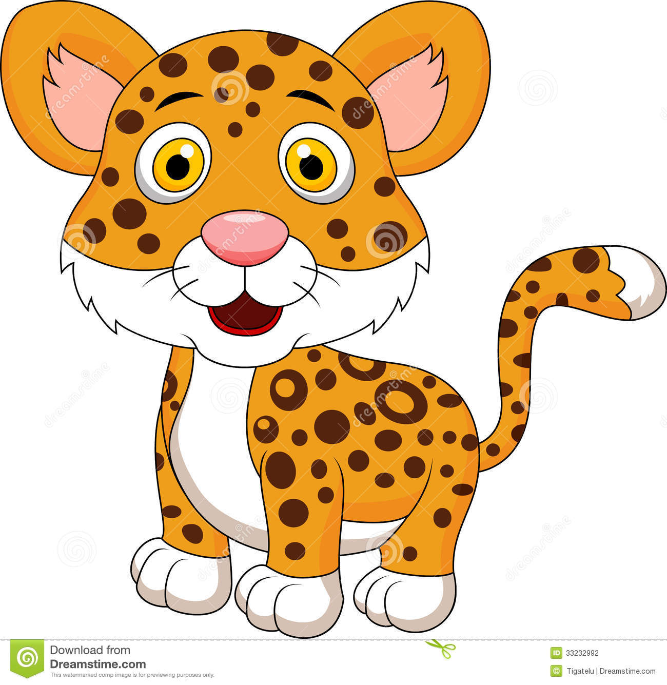 Baby clipart snow leopard Leopard Clipart Cartoon Leopard cliparts