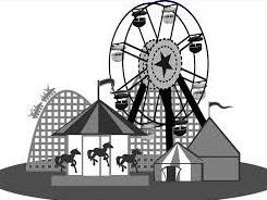 Amusement Park clipart Park Free Amusement Park Clipart