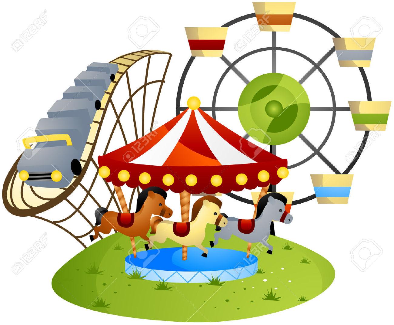 Amusement Park clipart Com park clipart clipartfox Amusement