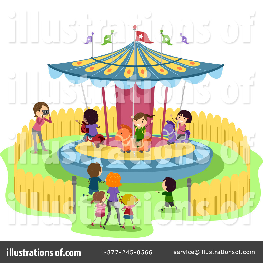 Carousel clipart ticket Amusement Royalty Free by Clipart