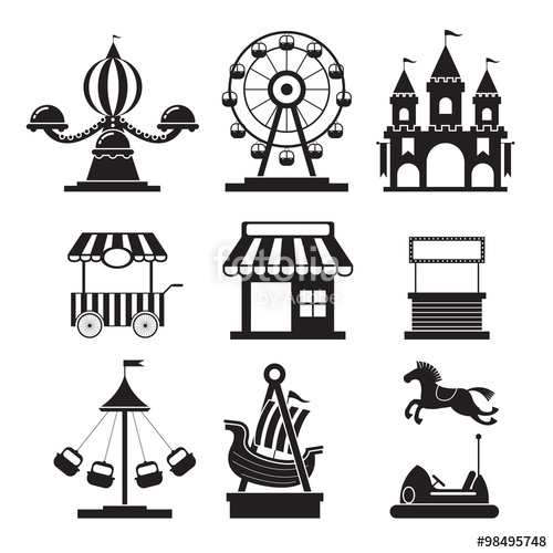 Amusement Park clipart fair game Fotolia Circus