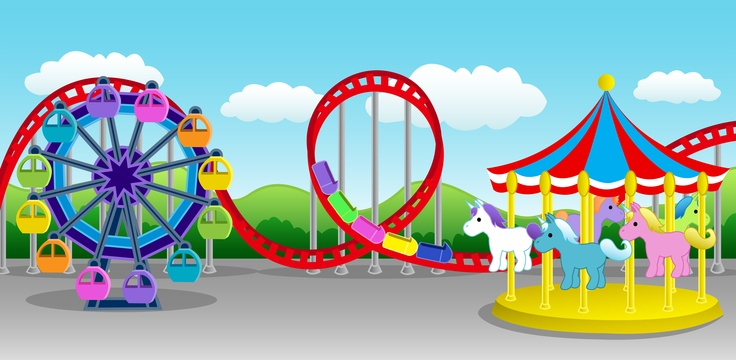 Amusement Park clipart fair game Clipartion On Art And Clipart