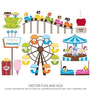 Amusement Park clipart theme park And Amusement park clipart ride