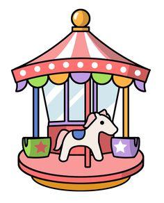 Amusement Park clipart theme park Theme Clip Wizard Art of