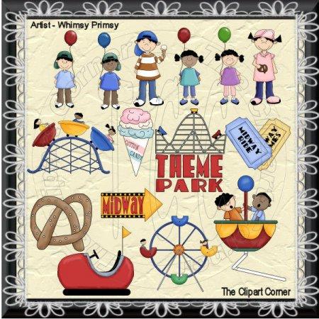 Amusement Park clipart theme park Clip Clip Art Amusement Theme
