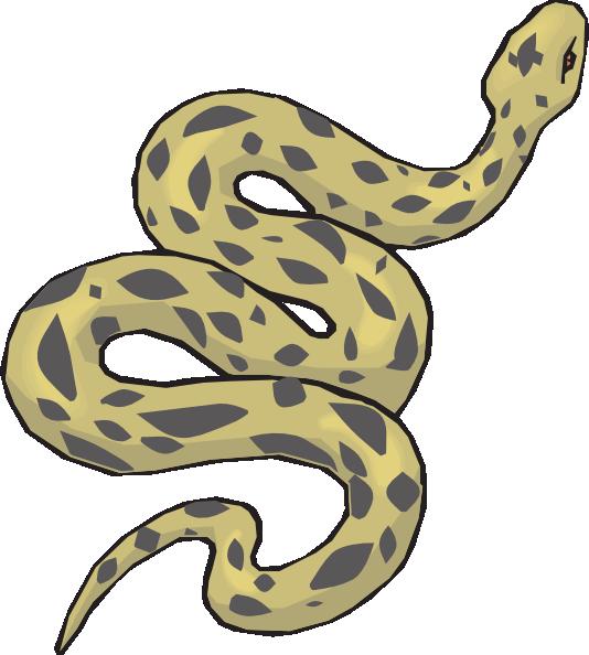 Boa Constrictor clipart viper Download Download Anaconda clipart #10