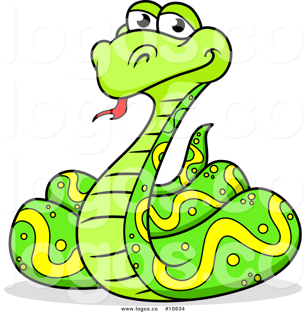 Anaconda clipart coiled snake Art Images Clipart Art Clipart