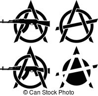 Anarchy clipart Vector Art symbols of Symbols