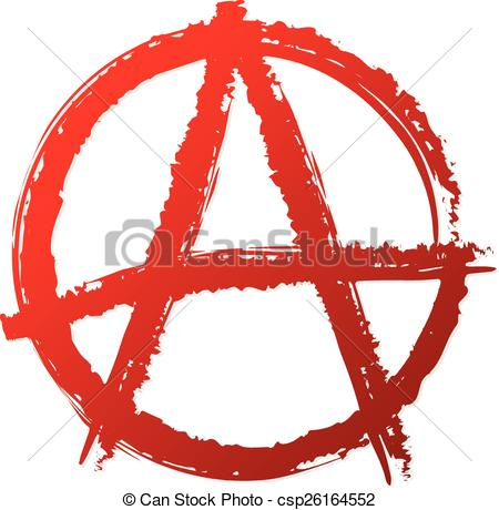 Anarchy clipart  punk antisocial symbol Anarchy