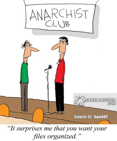 Anarchy clipart cartoon #5