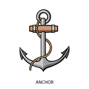 Pirate clipart anchor #12