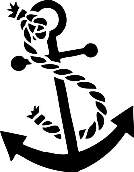Anchor clipart #12