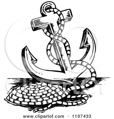 Drawn ship sea Anchor Clipart Anchor Ship Ropes