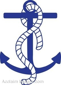 Navy clipart anchor rope #2
