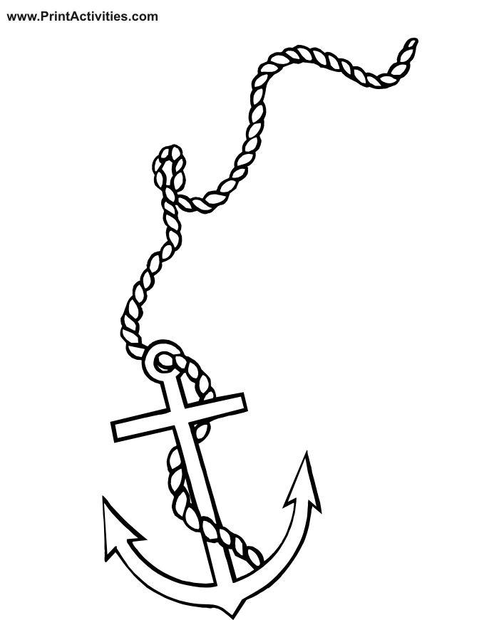 Drawn ship pirat Coloring 20+ Boat anchors of